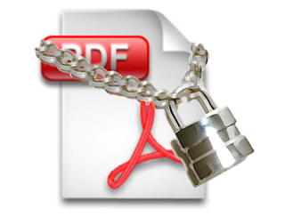 password protect PDF documents