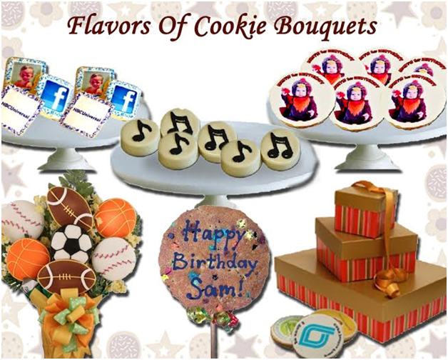 Add A Special Touch To Any Event With Flavors Of Cookie Bouquets
