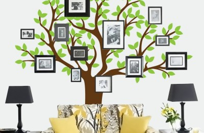 Colorful Family Tree