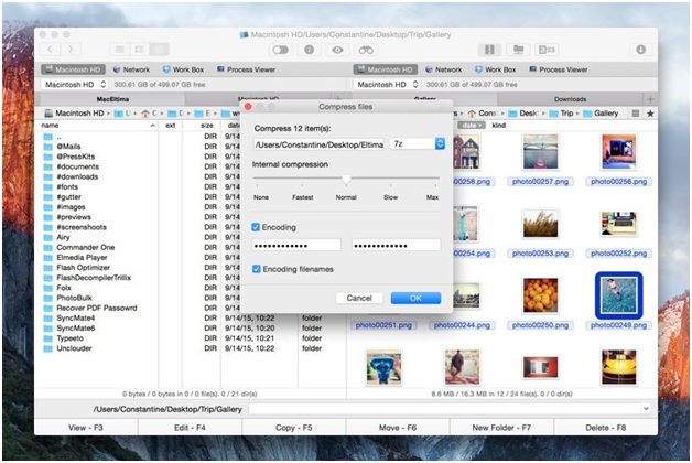 Commander One - Archive Software For Mac and File Management Tool