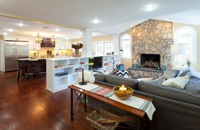Easily Decorate An Open Floor Plan