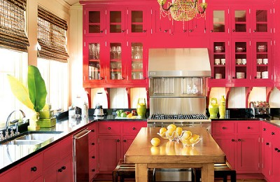 Bold Colors For Your Kitchen