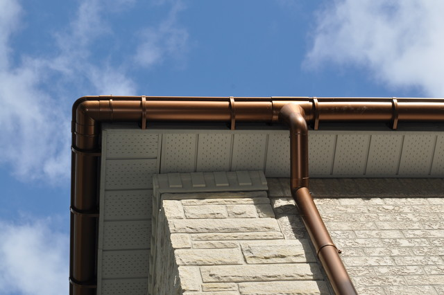 PVC Vs. Copper Gutters