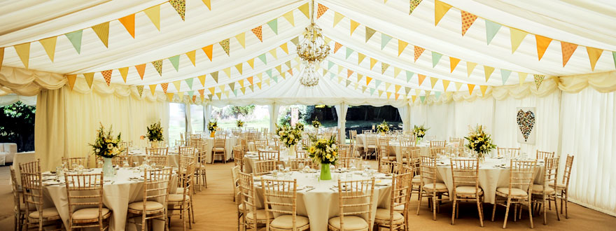 6 Essential Checks when Planning A Marquee Wedding