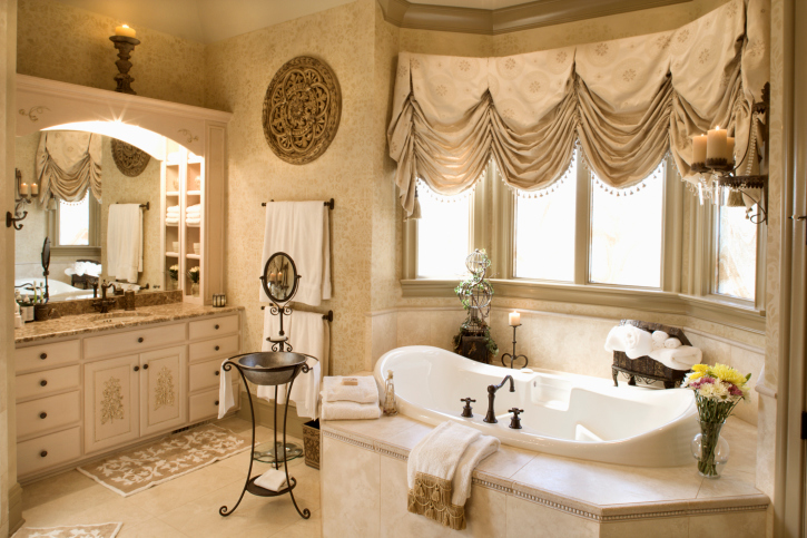 Push Your Bathroom Into The Luxe Zone