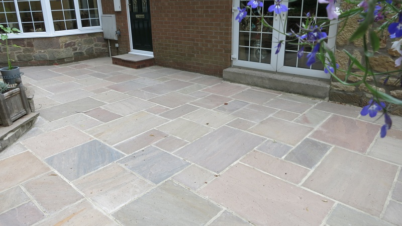 How To Properly Clean Your Indian Sandstone Paving