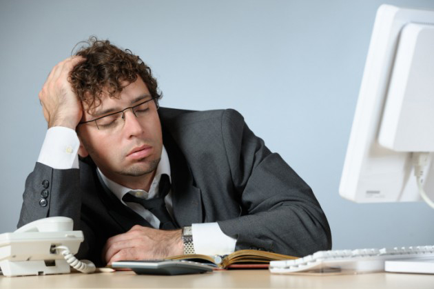 Why You Feel Sleepy In The Office
