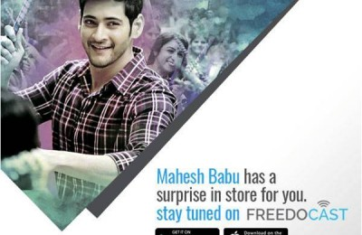 Superstar Mahesh Babu Live Broadcasts On Freedocast