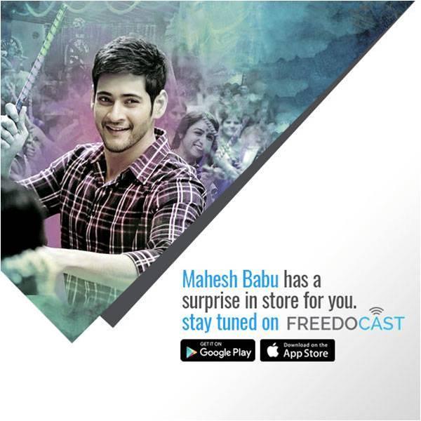 Superstar Mahesh Babu Live Broadcasts On Freedocast