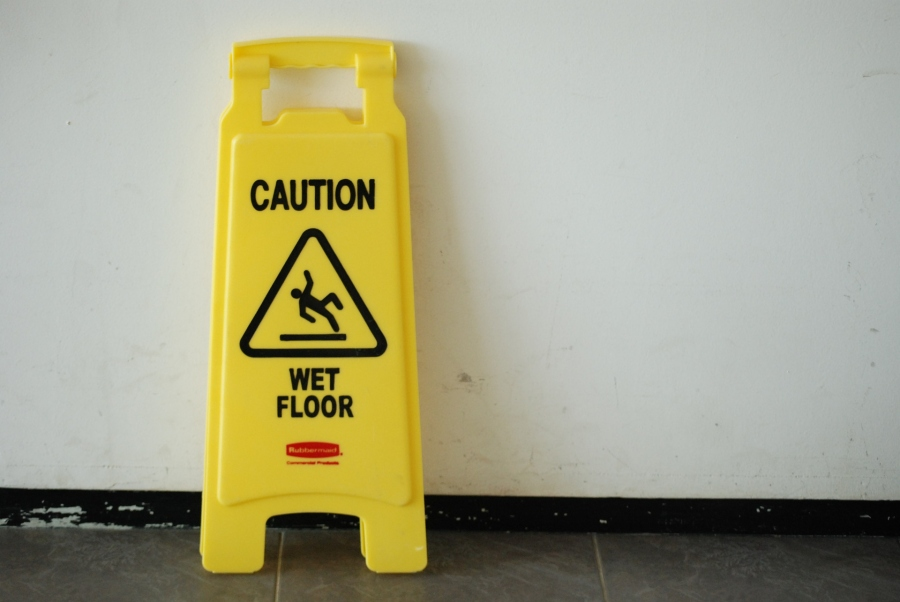Wet Floor: How a Little Yellow Sign Can Save a Small Business